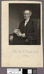 H. F. Burder, D.D., Hackney