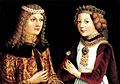 Portrait of Ladislaus the Posthumous and Magdalena of Valois 1480s-1490s.jpg