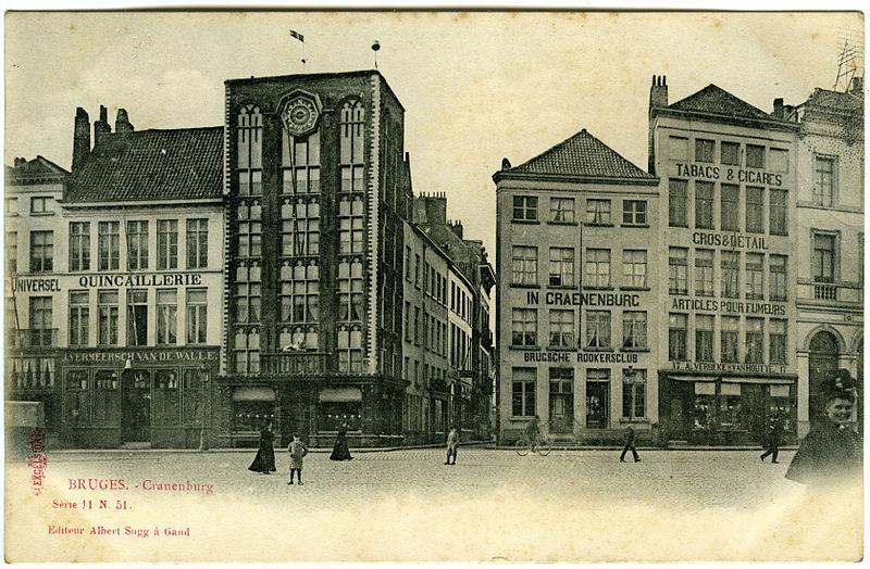 File:. Postcard - Bruges Cranenburg (. Excelsior Series 11, No. 51, Albert Sugg a Gand, ca 1905) jpg