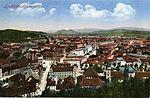 Postcard of Ljubljana from Ljubljana Castle 1930.jpg