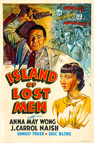 Island of Lost Men - Theatrical release poster