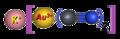 Potassium-dicyanoaurate, 3D-balls-ionic.png