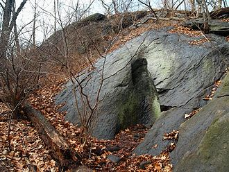 Inwood Hill Park - The largest glacial pothole in New York City is located in Inwood Park.