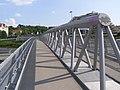 Praha, Střešovice, křižovatka Malovanka, most pěší 01.jpg