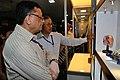 Pramod Kumar Jain and Ganga Singh Rautela - National Demonstration Laboratory Visit - Technology in Museums Session - VMPME Workshop - NCSM - Kolkata 2015-07-16 8827.JPG