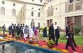 Pranab Mukherjee, the Vice President, Shri M. Hamid Ansari, the Prime Minister, Shri Narendra Modi, the Speaker, Lok Sabha, Smt. Sumitra Mahajan, the Union Minister for Chemicals & Fertilizers and Parliamentary Affairs (1).jpg