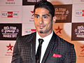 Prateik babbar big star award.jpg