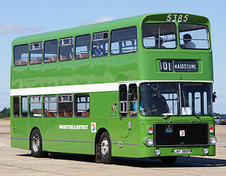 Volvo Ailsa B55 - Preserved Maidstone & District Motor Services Alexander AV bodied B55 in July 2010