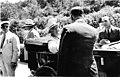 President Franklin Delano Roosevelt in Hot Springs during a campaign trip. Roosevelt is in the back seat, Supt. Thomas Allen is (aef74936-4e76-4800-8439-854735134c2b).jpg