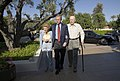 President George W. Bush walks with Former President Gerald Ford and Betty Ford.jpg