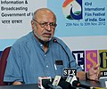 Press conference by Film Maker Shyam Benegal, A tribute to masters Ankur (Hindi 1973), at the 43rd International Film Festival of India (IFFI-2012), in Panaji, Goa on November 23, 2012.jpg