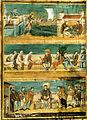 Prima bibbia di carlo il calvo, scene della vita di san girolamo, 846 circa, Ms. Lat 1 f. 423 v. 37,50x49,5 cm, parigi, biblioteque nationale.jpg