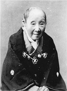 Princess Yoshiko (Arisugawa-no-miya) Wife of Tokugawa Nariaki, the 9th feudal lord of Mito Domain. The mother to Tokugawa Yoshinobu, the last Chief of the Tokugawa shogunate.