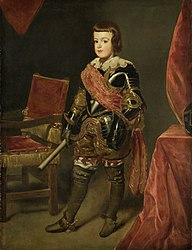 Juan Bautista Martínez del Mazo: Portrait of Infante Balthasar Carlos
