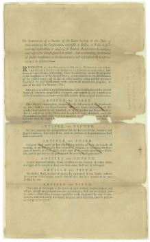 Proposed Amendments to the U.S. Constitution as Passed by the Senate, Printed September 14, 1789.djvu