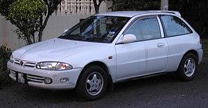 1995 in Malaysia - Proton Satria.