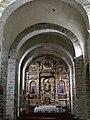 Prunet-et-Belpuig - Chapelle de la Trinité - Nef et retable du maître-autel.jpg
