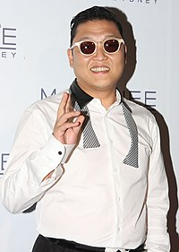 Psy la The Star în Sydney, Australia