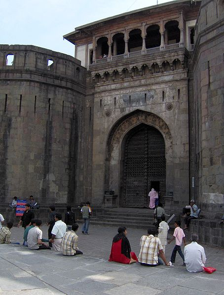 File:Pune ShaniwarWada DelhiGate.jpg