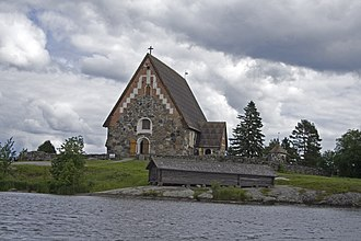 Tyrvää - The Medieval St. Olaf's Church.