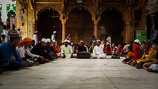 Qawwali Sufi devotional music popular in South Asia