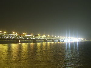Qiantang River - Image: Qiantang River Bridge