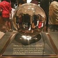 Massief Glazen Bollen.Kristallen Bol Wikipedia