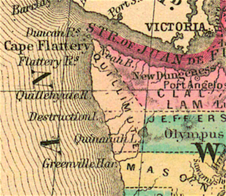 Quillehuyte County, Washington former county in Washington Territory, United States (1868-1869)