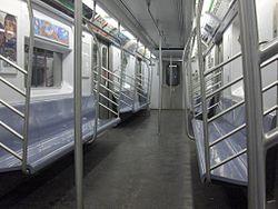 r142 new york city subway car. Black Bedroom Furniture Sets. Home Design Ideas