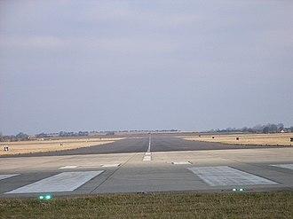 RAF Benson - Main runway at RAF Benson