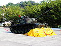 ROCA M60A3 TTS at ORDC Entrance as Open Day Sign 20121013.jpg