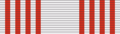 ROK Order of Cultural Merit Eun-gwan (2nd Class) ribbon.PNG