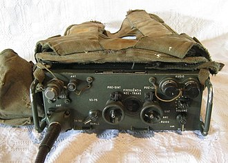 AN/PRC-77 Portable Transceiver - Radio AN/PRC-77 / EB-11 RY-20/ERC-110 of the Telefunken do Brasil S/A.