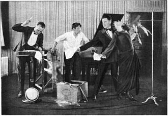 "WGY (AM) - WGY Radio Players performing a dramatic scene from William Vaughn Moody's ""The Great Divide"" (1923)"