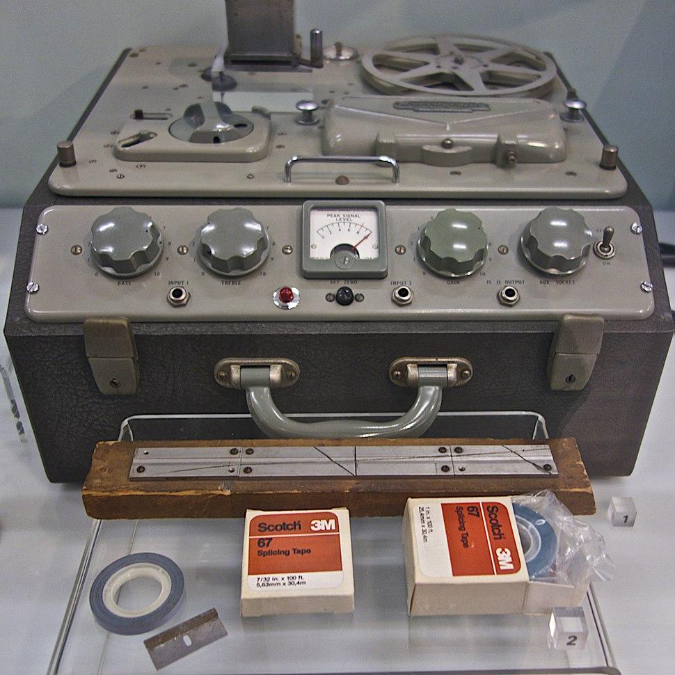 Radiophonic Workshop Tape Machine, Science Museum London