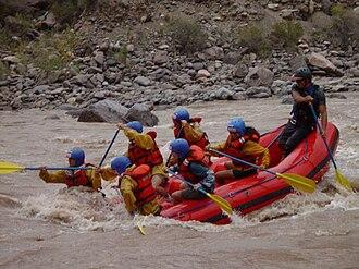 Mendoza River - Rafting at Mendoza River