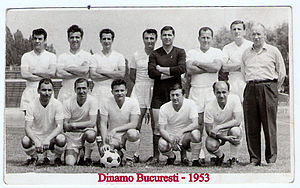 FC Dinamo București - Dinamo Bucharest in 1953