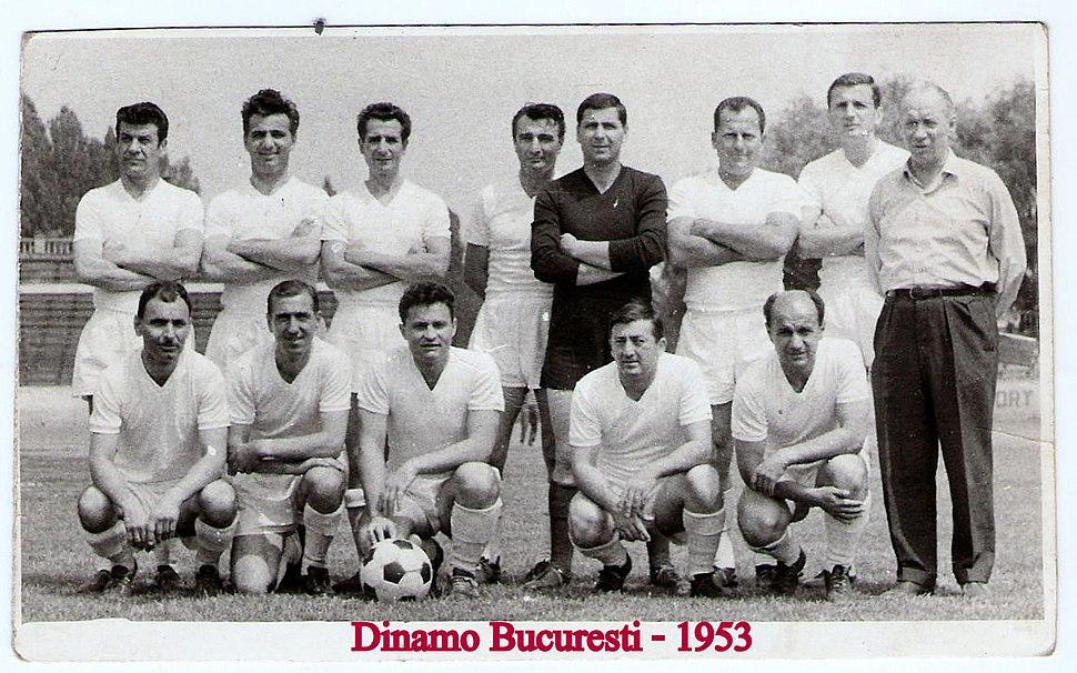 Raica cu echipa in '53
