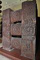 Railing - 2nd Century BCE - Red Sand Stone - Bharhut Stupa - Madhya Pradesh - Indian Museum - Kolkata 2012-11-16 1853.JPG