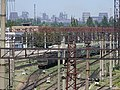 Railyard with Industrial Backdrop - Zaporozhye - Ukraine (44111588551).jpg