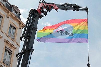 Raising of Flag, Pride Lyon 2018.jpg