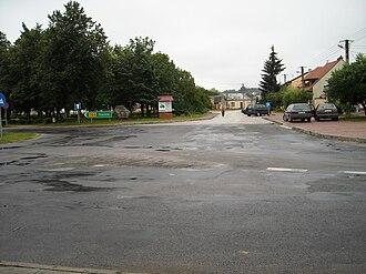 Raków, Kielce County - Image: Raków Plac Wolności 6