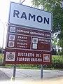 Ramon, cartello stradale (Loria).jpg