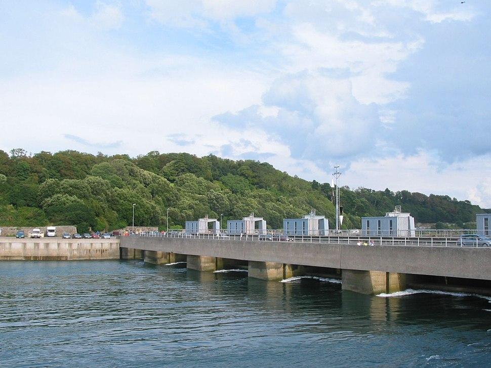 Rance tidal power plant