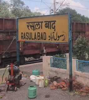 Rasulabad city in Uttar Pradesh, India