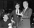 Ray Flynn, Jr., Governor Michael S. Dukakis, Mayor Raymond L. Flynn (9516903547).jpg