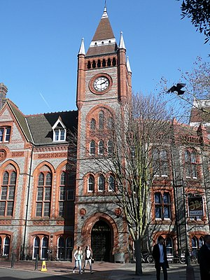 Reading Town Hall - Image: Reading Town Hall, Friar Street, Reading (2)