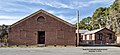 Redfield, Arkansas 1939 WPA School South facing entrance.jpg