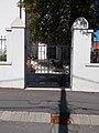 Reformierte Kirche, Lórántffy Straße, Tor, 2020 Sárospatak.jpg