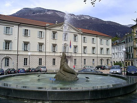 The Ursuline Palace in Bellinzona, the meeting place for both the Grand Council and the Council of State.